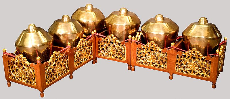 The Kenong Is One Of The Instruments Used In The Indonesian Gamelan