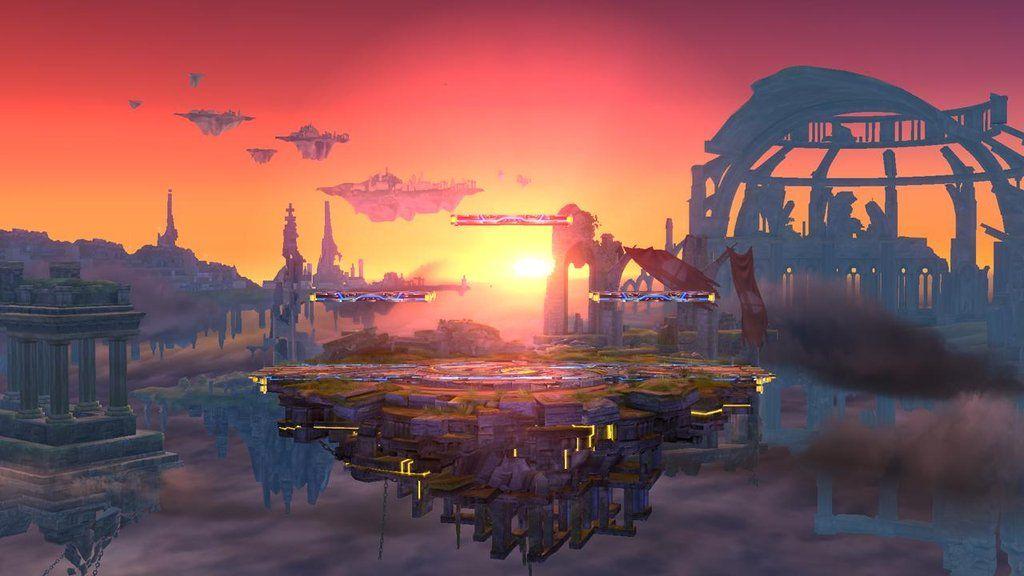 Super Smash Bros Stage, Wii U