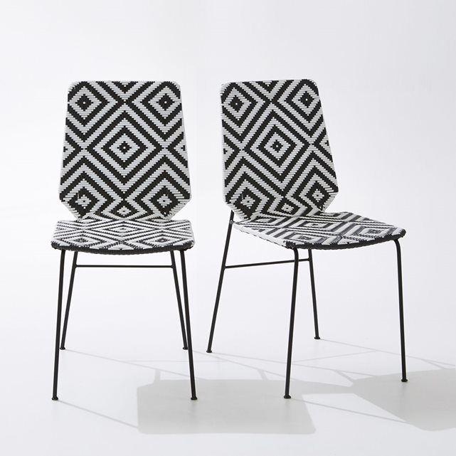 Chaise de jardin Impalla, lot de 2 | Terrasses