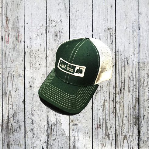 Lake Bum Pine Tree Trucker Hat