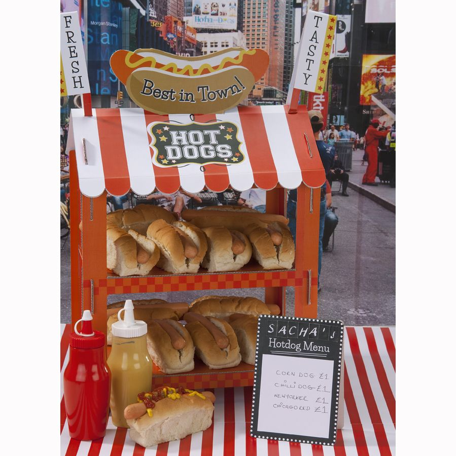 Street Stall Hot Dog/Popcorn Stand | Talking Tables