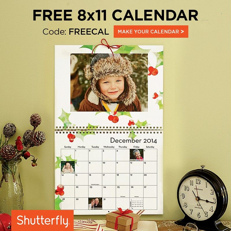 Get A Free Calendar With Code Freecal And Make A Gift They Ll
