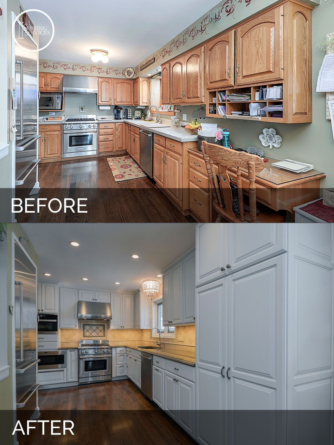 Mike & Betty's Kitchen Before & After Pictures In 2019
