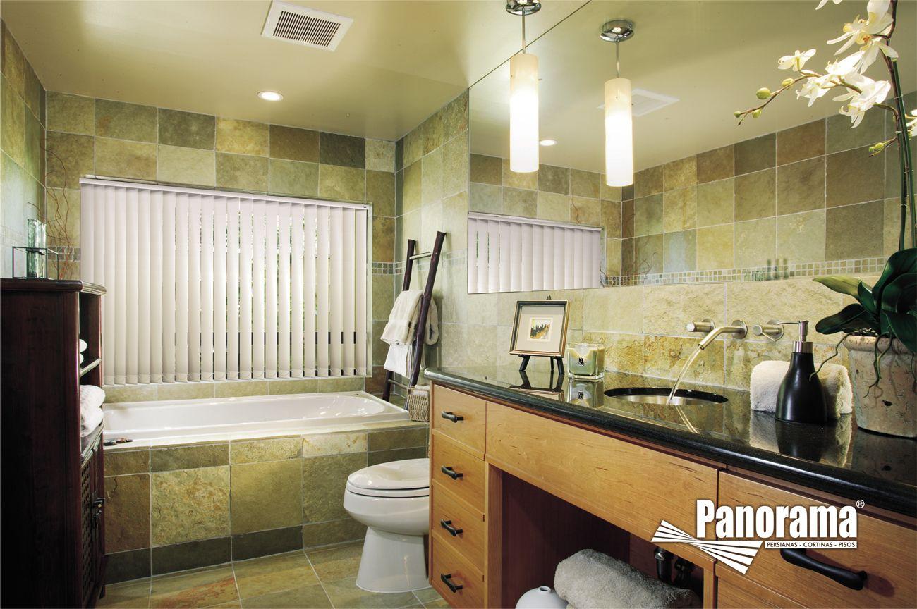 cortinas para baño quito:persianas verticales para baños   ana's