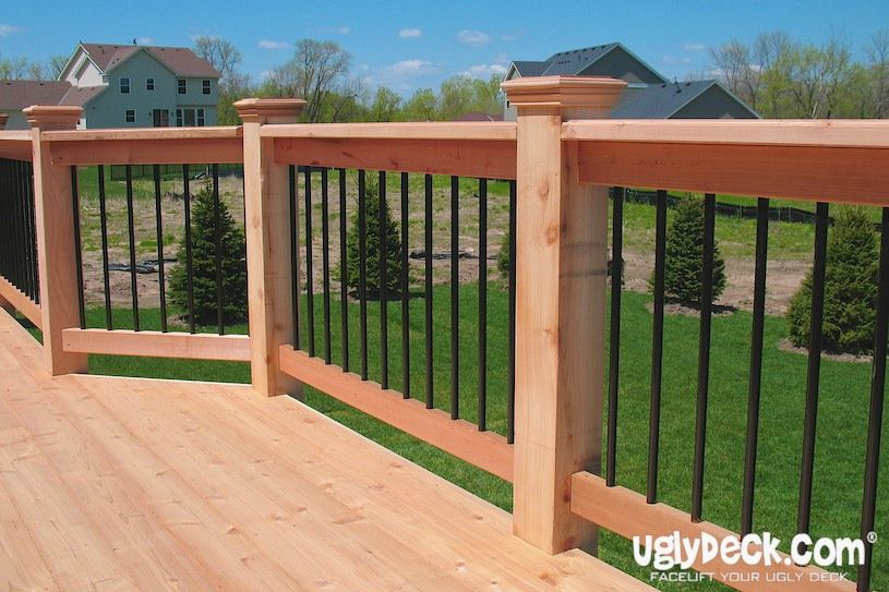 Gallery Of Minnesota Deck Railings Projects Outdoor Stair Railing Deck Railings Building A Deck