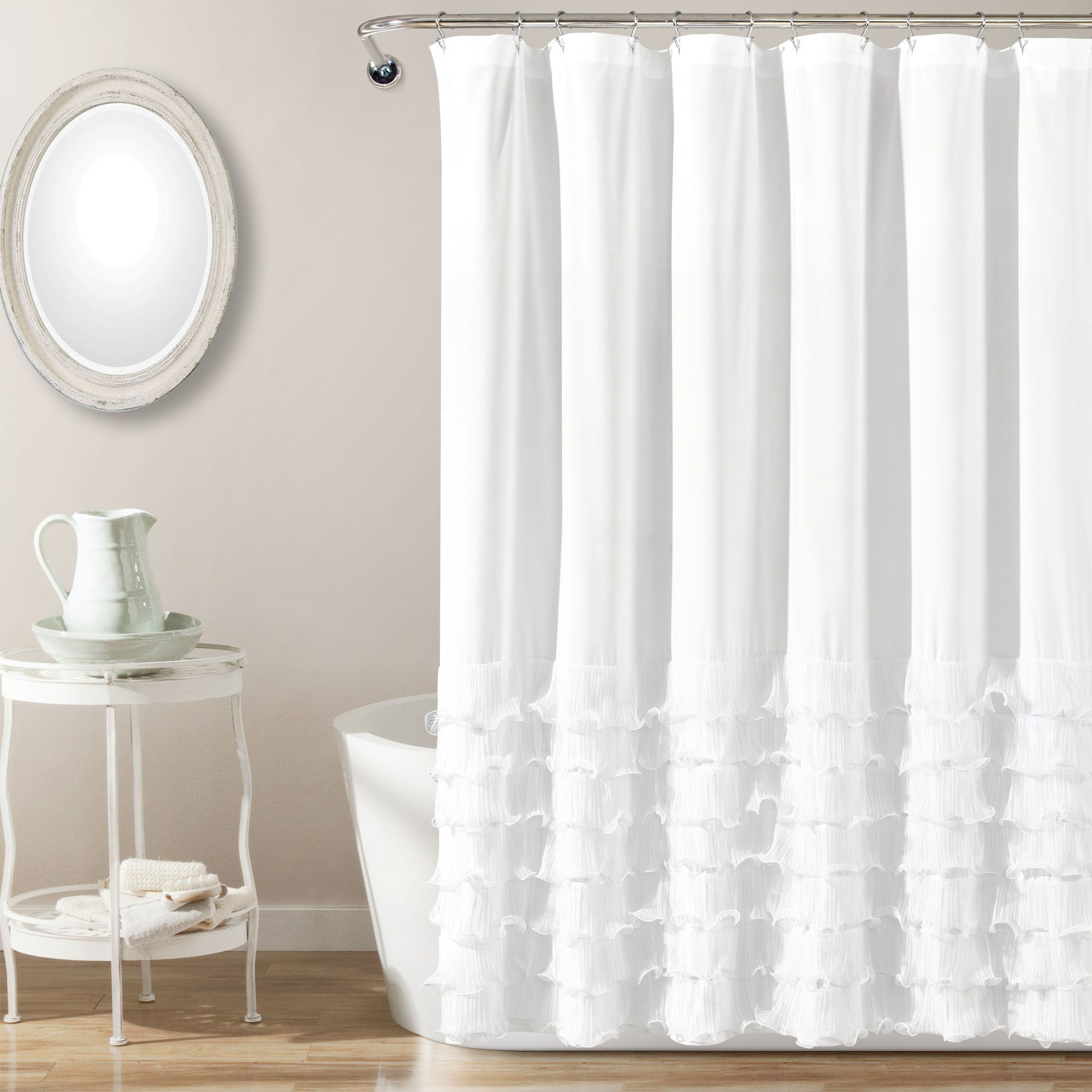 Avery Shower Curtain In 2020 Elegant Shower Curtains Shower