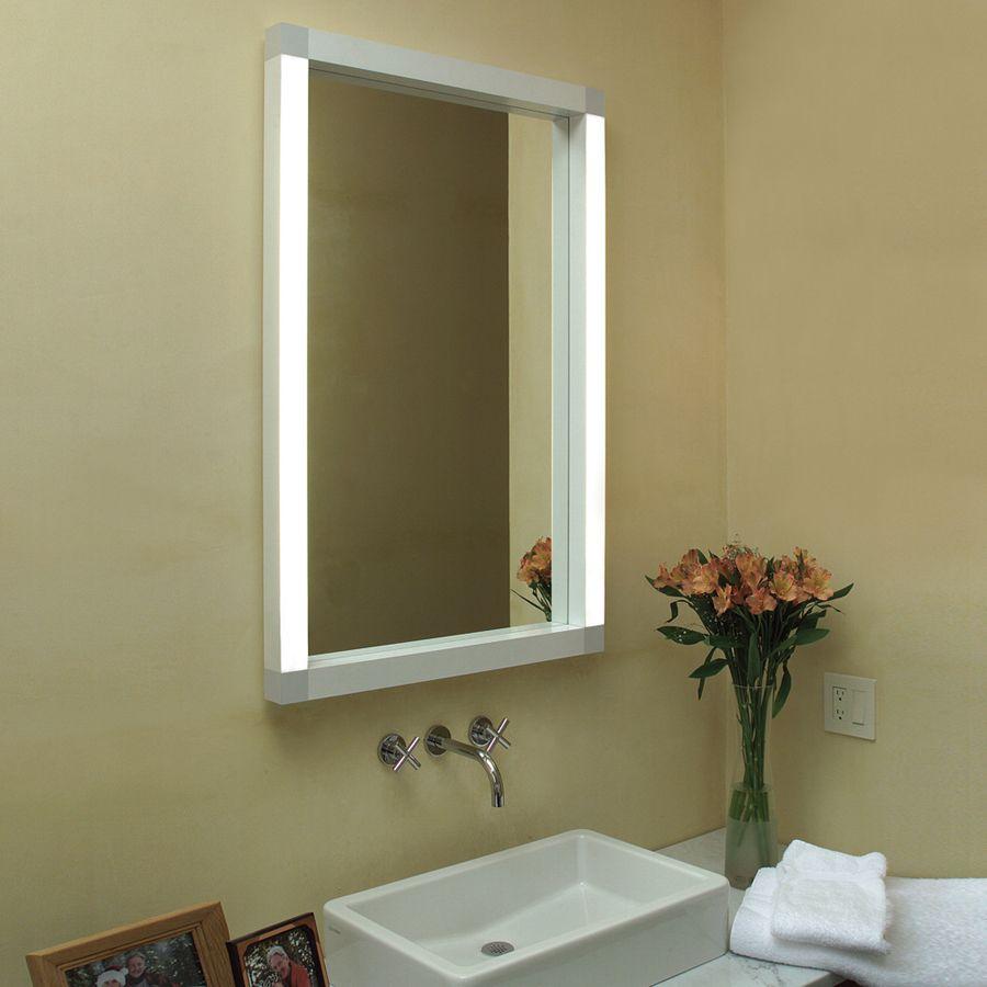 Mirror Bathroom LED Wall Mirror - Bathroom Mirror with LED Light ...