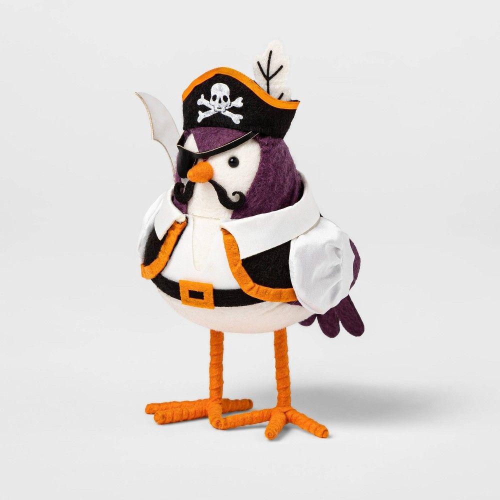 Pirate Bird Decorative Halloween Figurine   Hyde & EEK Boutique ...