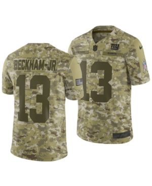 c783362d555574 Nike Men's Odell Beckham Jr. New York Giants Salute To Service Jersey 2018  - Green 3XL