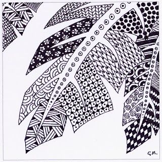 The Fading Rose Zentangles How To Draw Stems Zentangles Arte