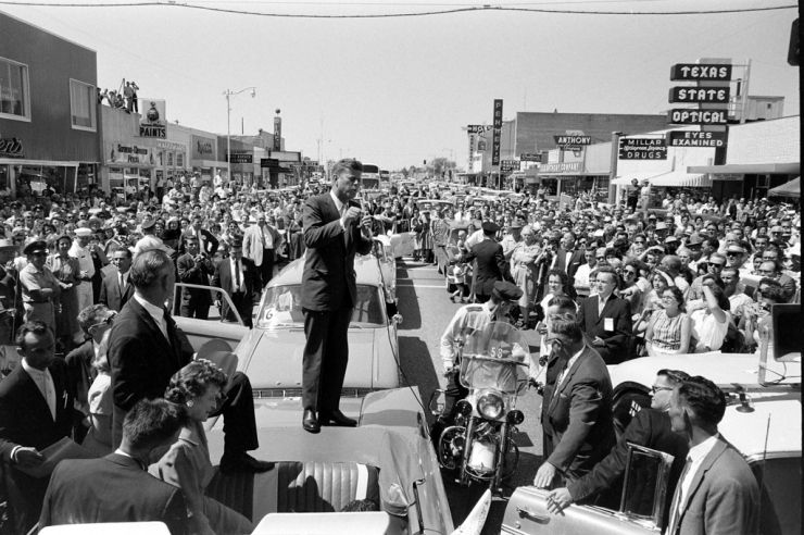 JFK in Texas. Presidential Campaign 1960