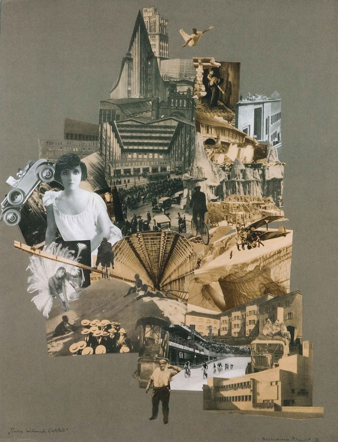 Marianne Brandt and The Bauhaus Photomontages #collageboard