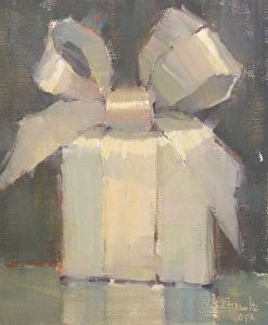 Surprise Me by Nancy Franke Oil ~ 12 x 10