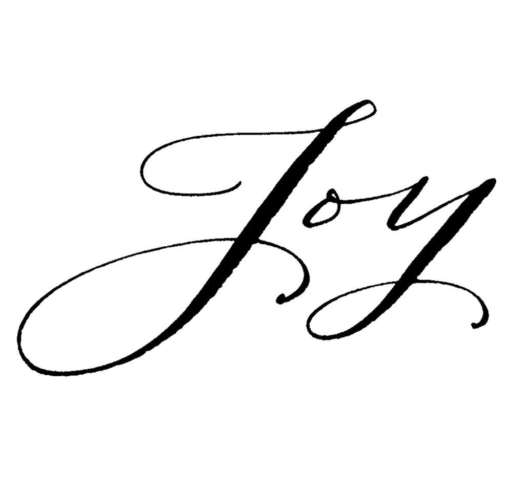 Joy is the settled assurance that god in control of all