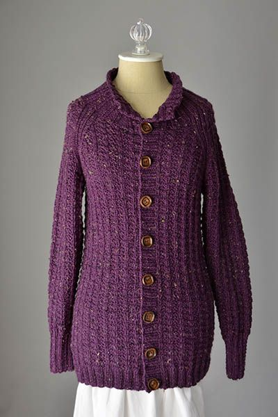 Ambling Cardigan Free Knitting Pattern See More Httpknitting