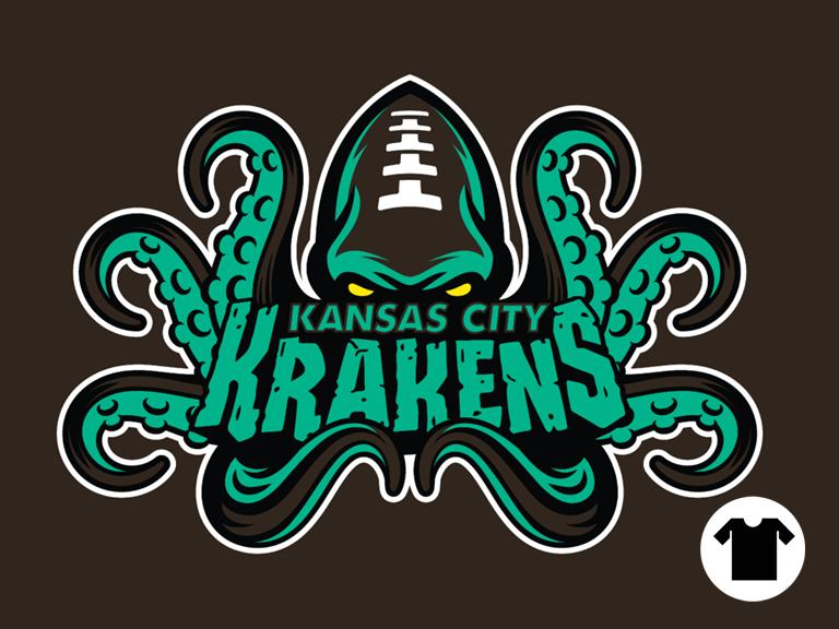 Kansas City Krakens by Wheels03 | Cool T-Shirts | Sports