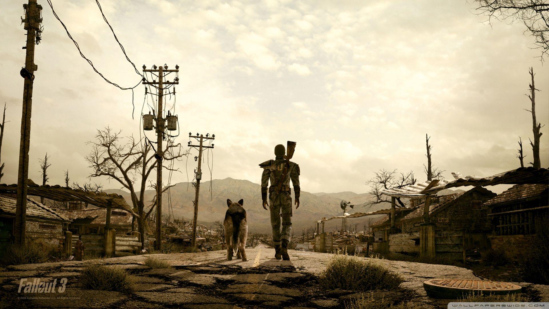 Fallout 3 Wallpaper Full Hd Fallout 3 Wallpaper Photo Art Prints