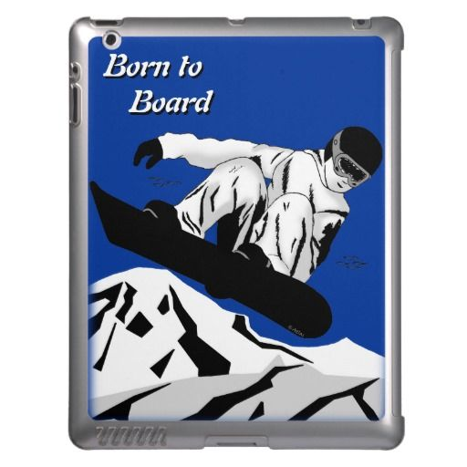 Snowboarding 5 case for iPad