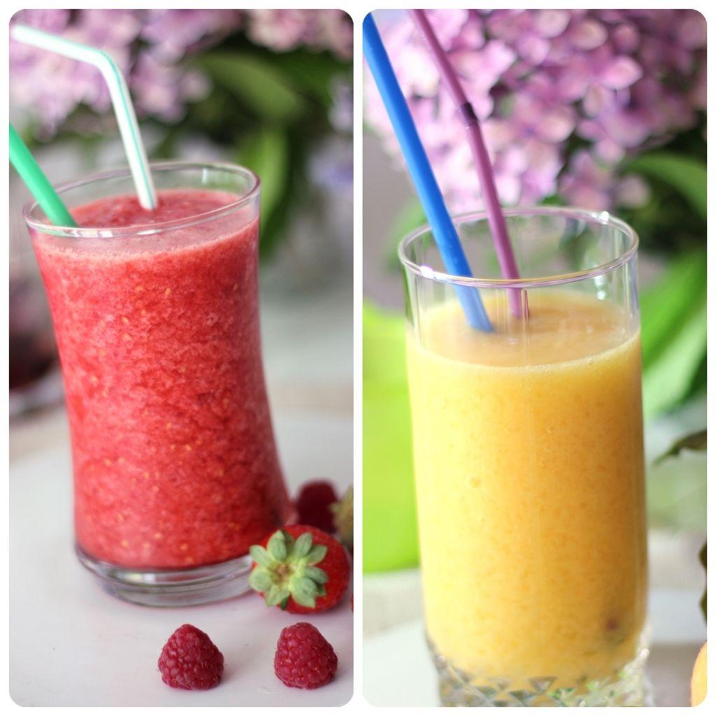 Frappuccinos de frutas