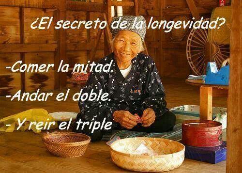 El secreto de la longevidad. #salud #longevidad | I ♥ Vida