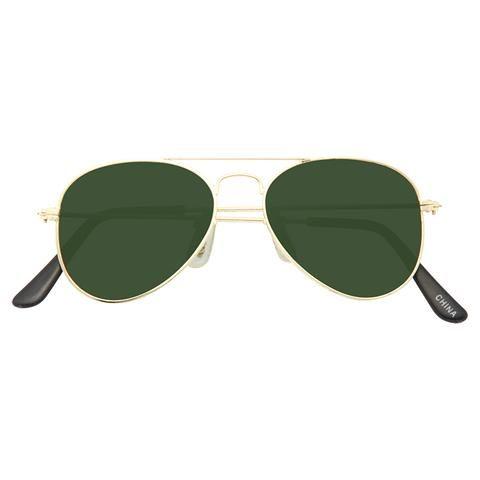 53565dc9fe9 Kids Classic 46mm Solid Lens Aviator Sunglasses