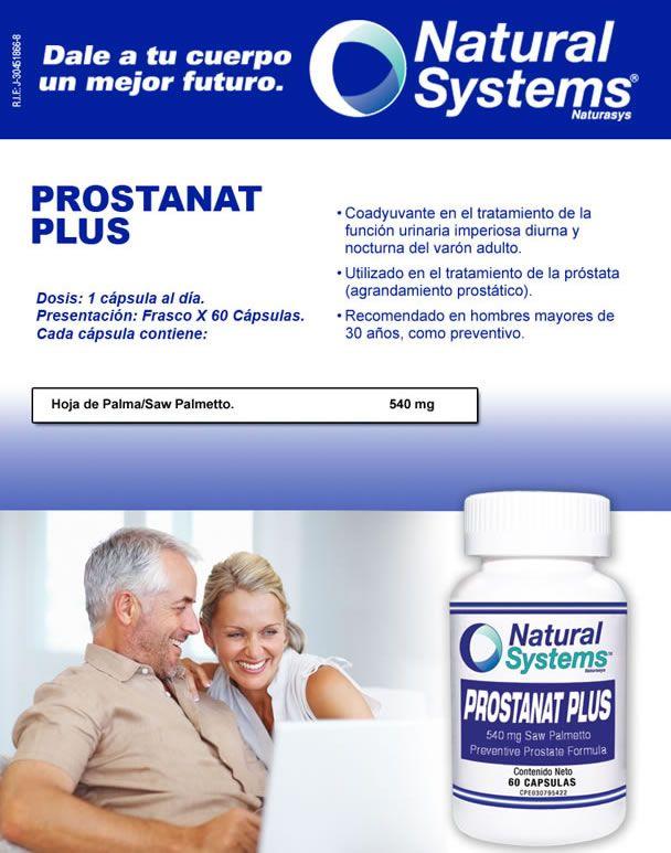 producto natural para la función de la próstata