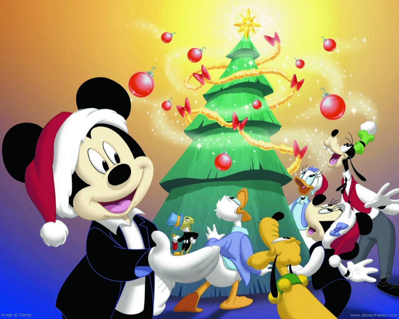 Magical Mickey Mouse Christmas - Wallpaper #574 | edwin ...