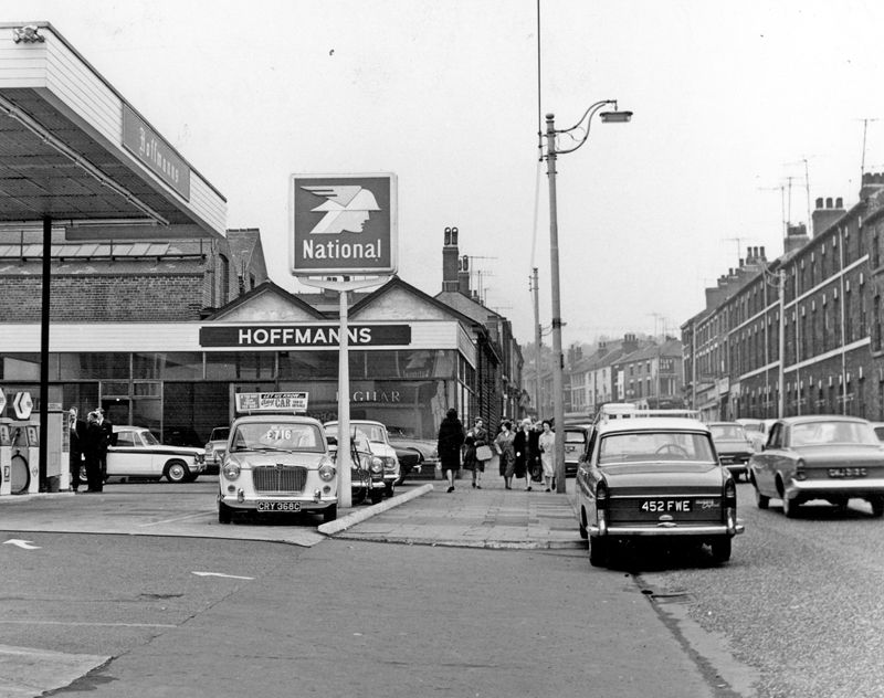Ecclesall Road Including Nos 43 67 Hoffmans Of Sheffield