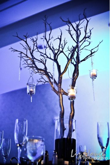 Branches Centerpiece On A Budget Simple Branch Centerpiece With Votives Budget Brides Guide A Tree Branch Centerpieces Diy