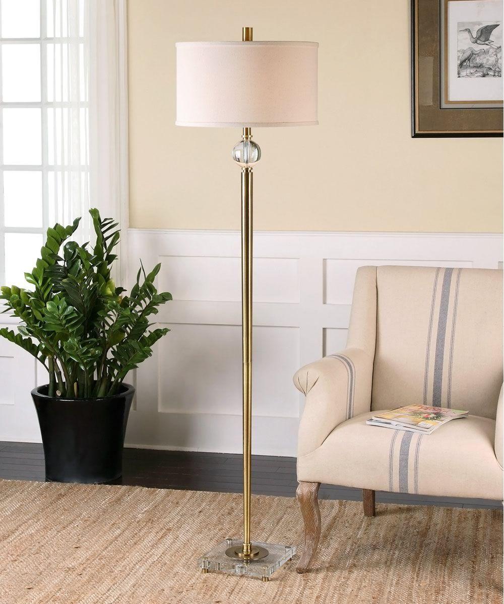 0 008358 Mesita Brass Floor Lamp Brass Floor Lamp Floor Lamp Decor