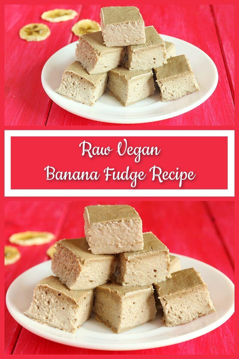 Raw Vegan Banana Fudge