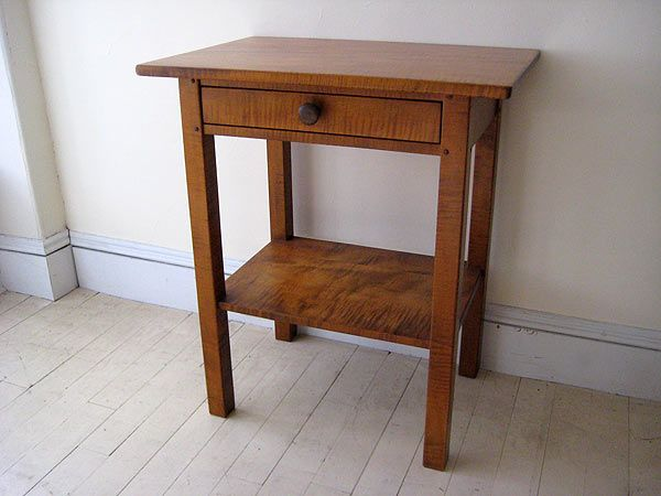 Windsor Chairmakers Lincolnville Me Bedside Table Maine House