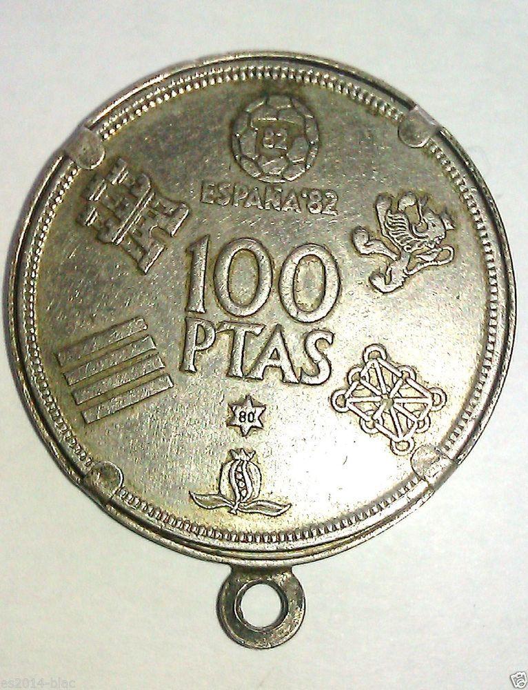 Moneda Mundial De Futbol Monedas Monedas De Plata Moneda Española