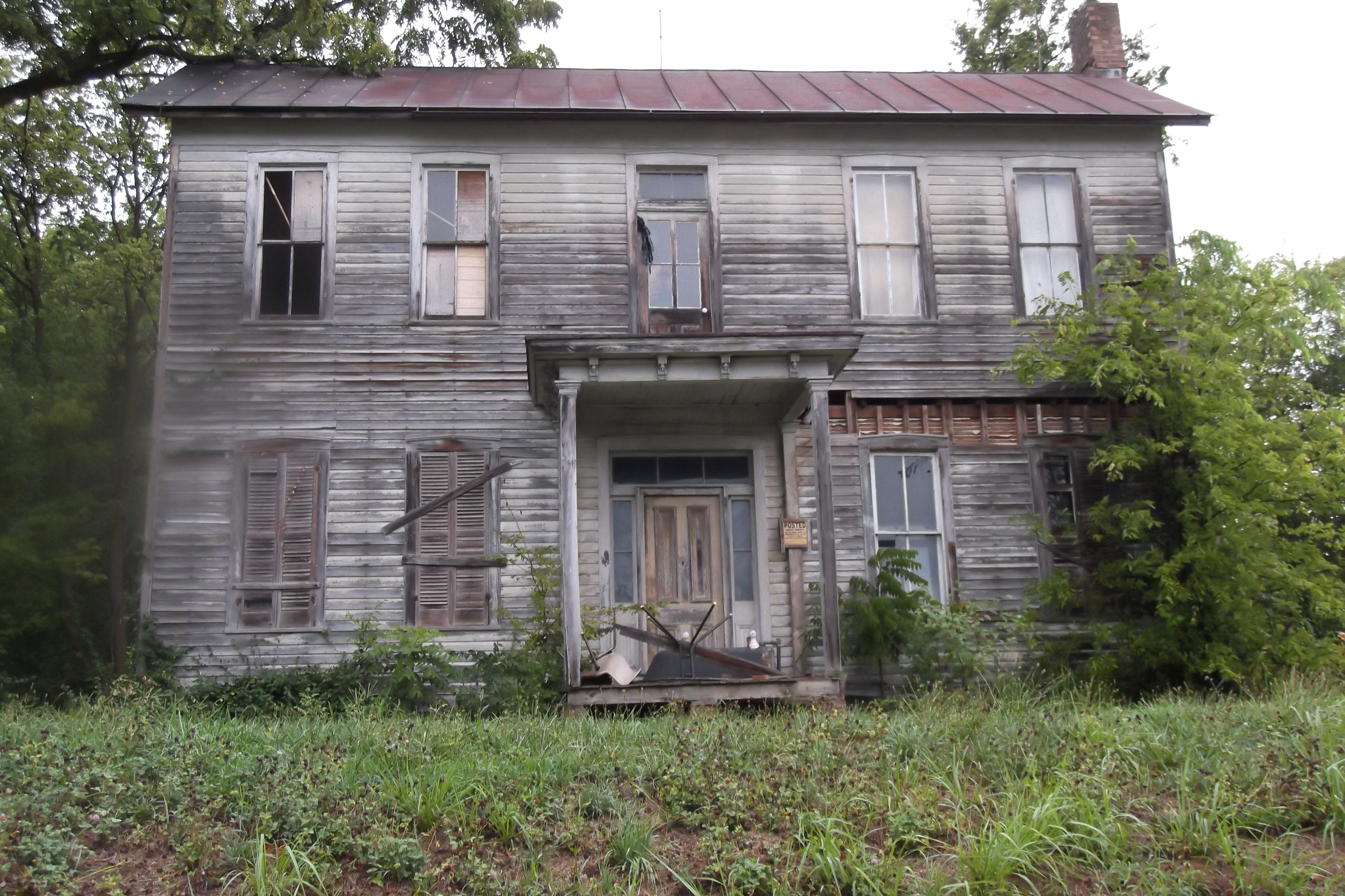 Southern illinois abandoned home if this old house could for Home builders in southern indiana