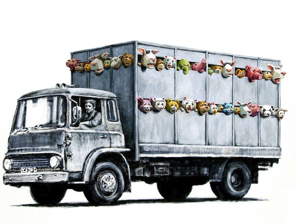 Banksy su pubblicata la sua nuova opera