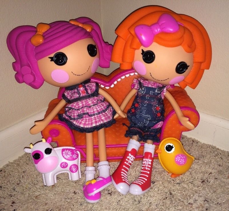 Berry Jars And Jam Sunny Side Up Twins Lalaloopsy Full Size Pets