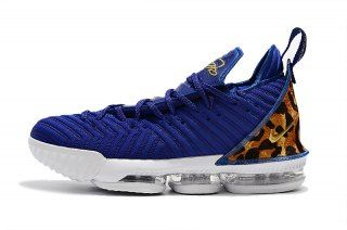 wholesale dealer 93dcf 31d94 Nike LeBron 16 Champion Royal Blue White Men s Basketball Shoes James Shoes
