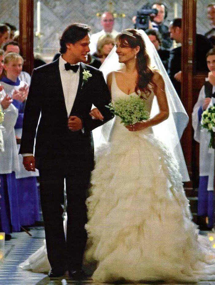 Celebrity wedding gown: Elizabeth Hurley wedding dress | Wedding ...