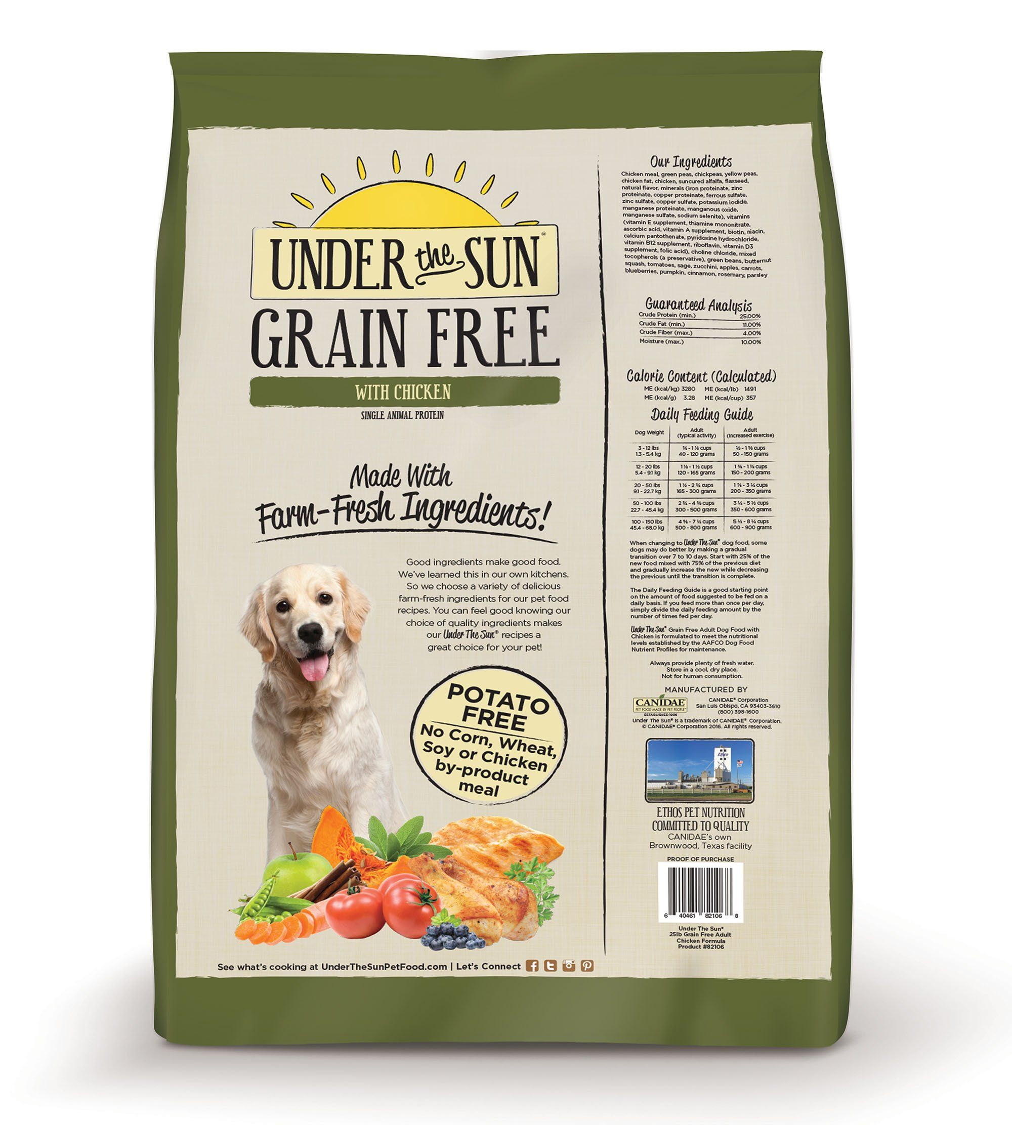 Canidae Under The Sun Grain Free Dog Food With Chicken 12 Lbs You Can Get Additional Details At The Image Dog Food Recipes Dry Dog Food Grain Free Dog Food