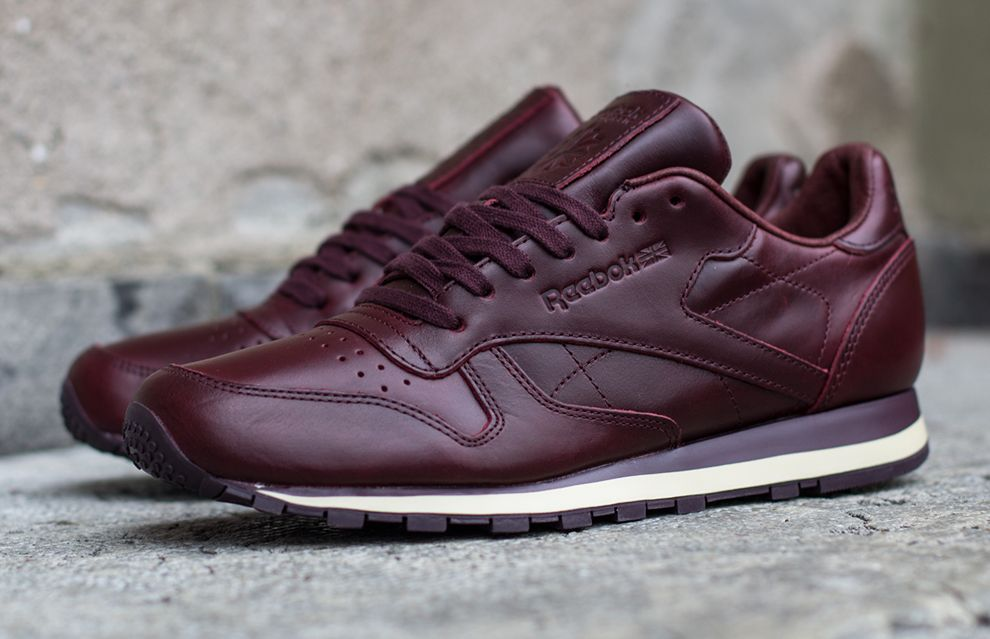 98b944373daf6 Reebok Classic Leather LUX  Henna  (Horween)