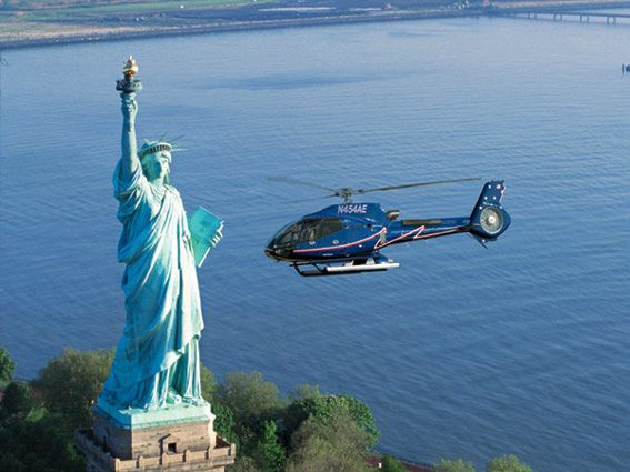 Statue of Liberty Helicopter Sighsteeing