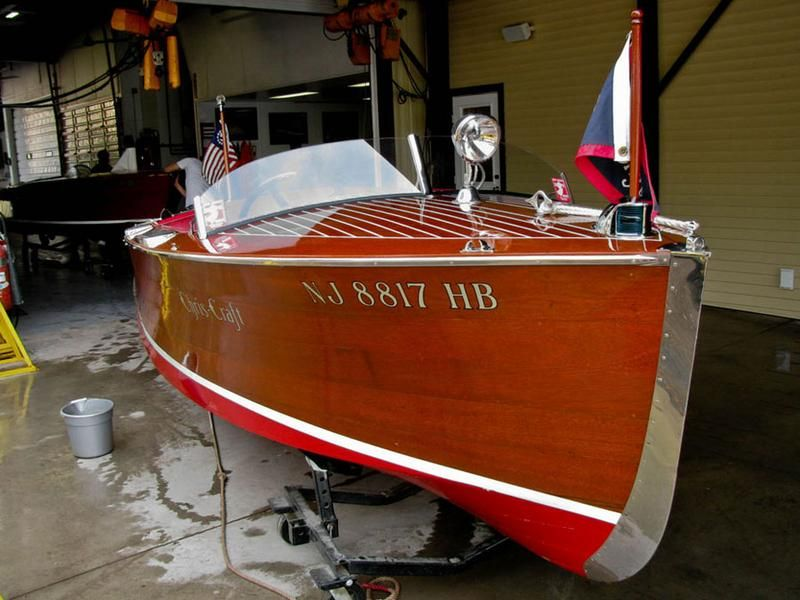 1937 Chris Craft Deluxe Runabout Wooden Boats Classic Wooden