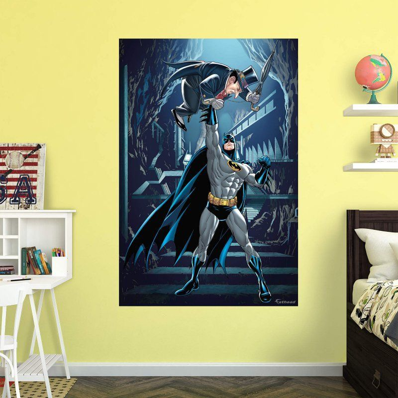 Fathead Batman and Penguin Wall Mural 97 97043 Products