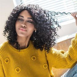SHARE & Get it FREE | Curly Medium Shaggy Side Parting Synthetic WigFor Fashion Lovers only:80,000+ Items • New Arrivals Daily • Affordable Casual to Chic for Every Occasion Join Sammydress: Get YOUR $50 NOW!