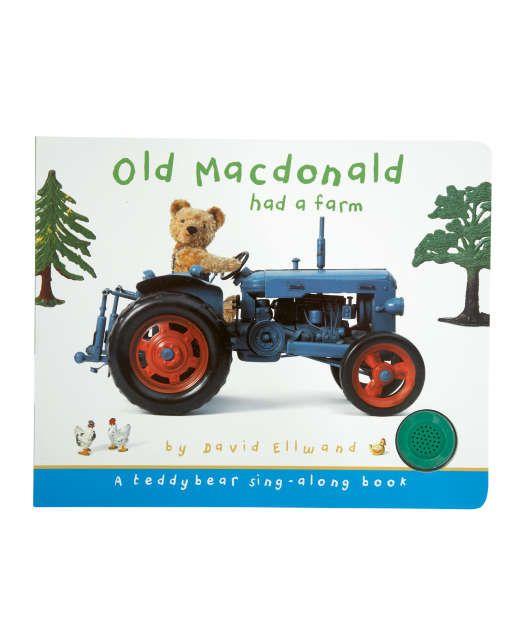 Old MacDonald had a farm sing-along book