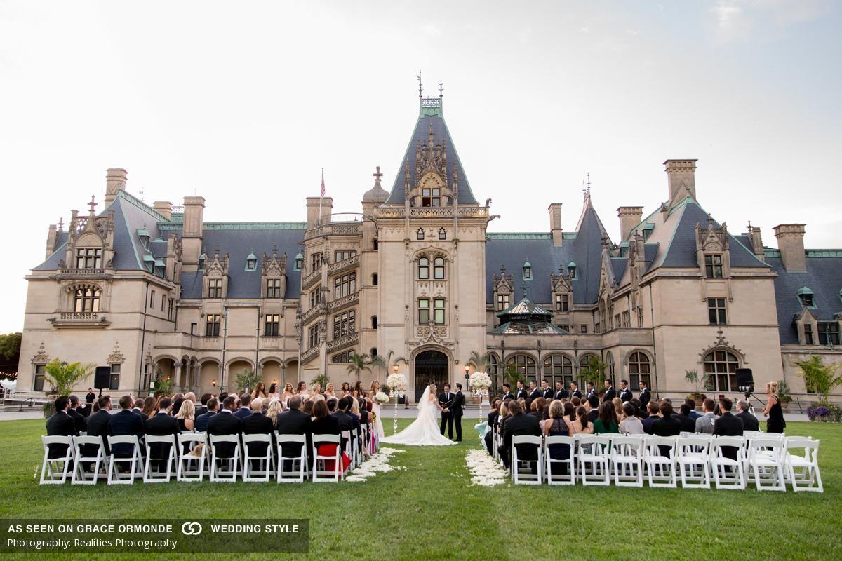An Old World Glamorous Wedding At The Biltmore Estate In Asheville North Carolina Planner A Biltmore Wedding Biltmore Estate Wedding Venues North Carolina