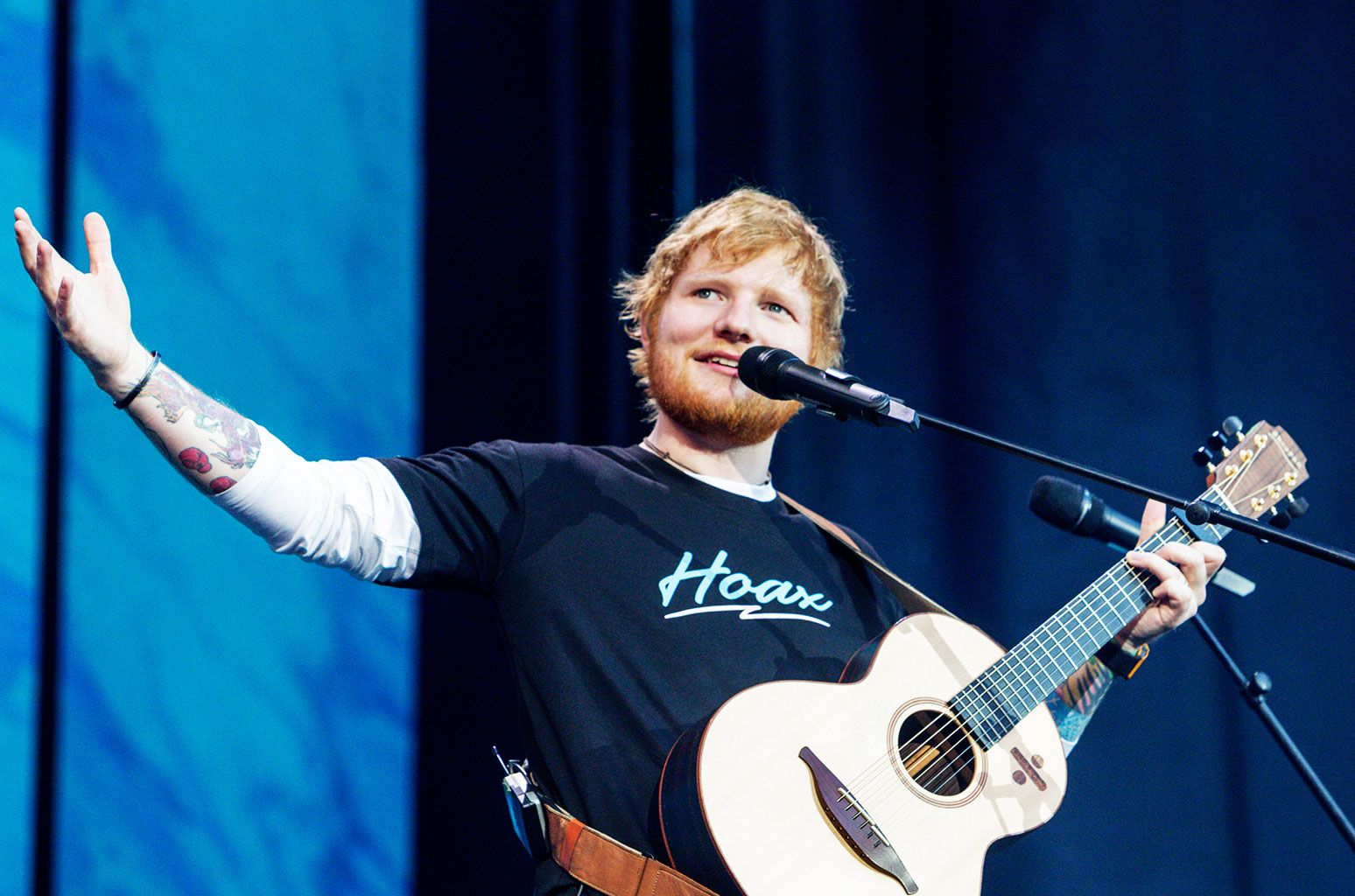Ed Sheeran's Record-Breaking Divide Tour Posts Final
