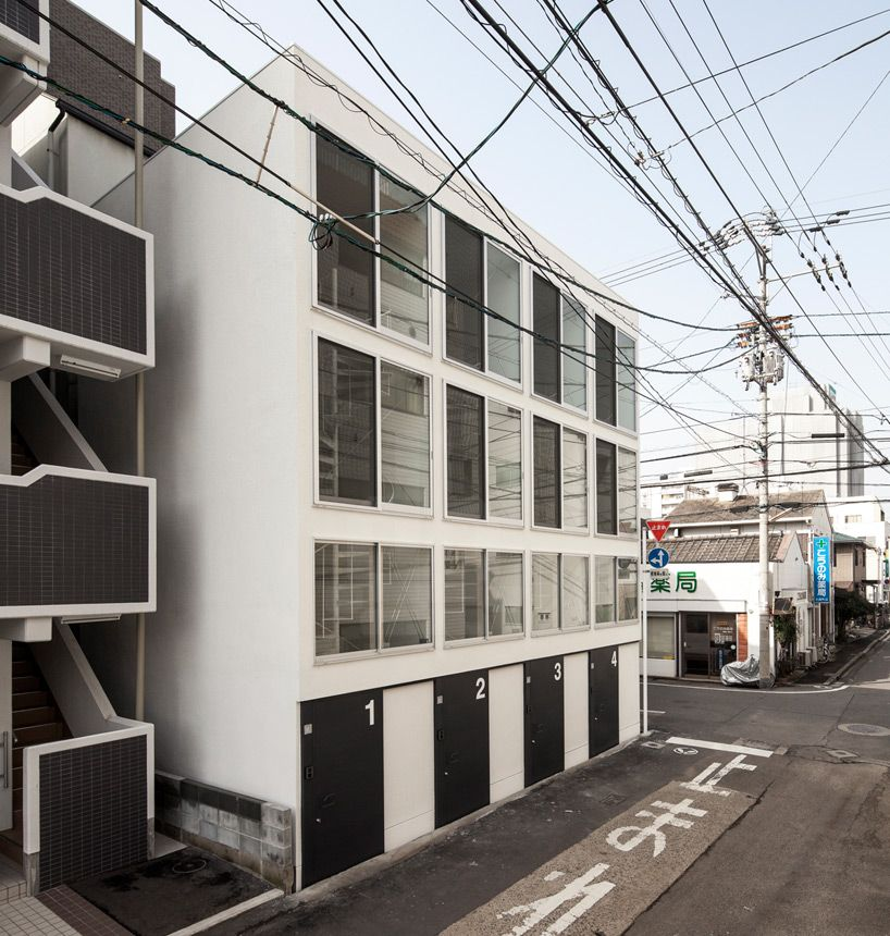 Delante Apartments: Be Fun Design Combines Four Narrow Dwellings For Spiral