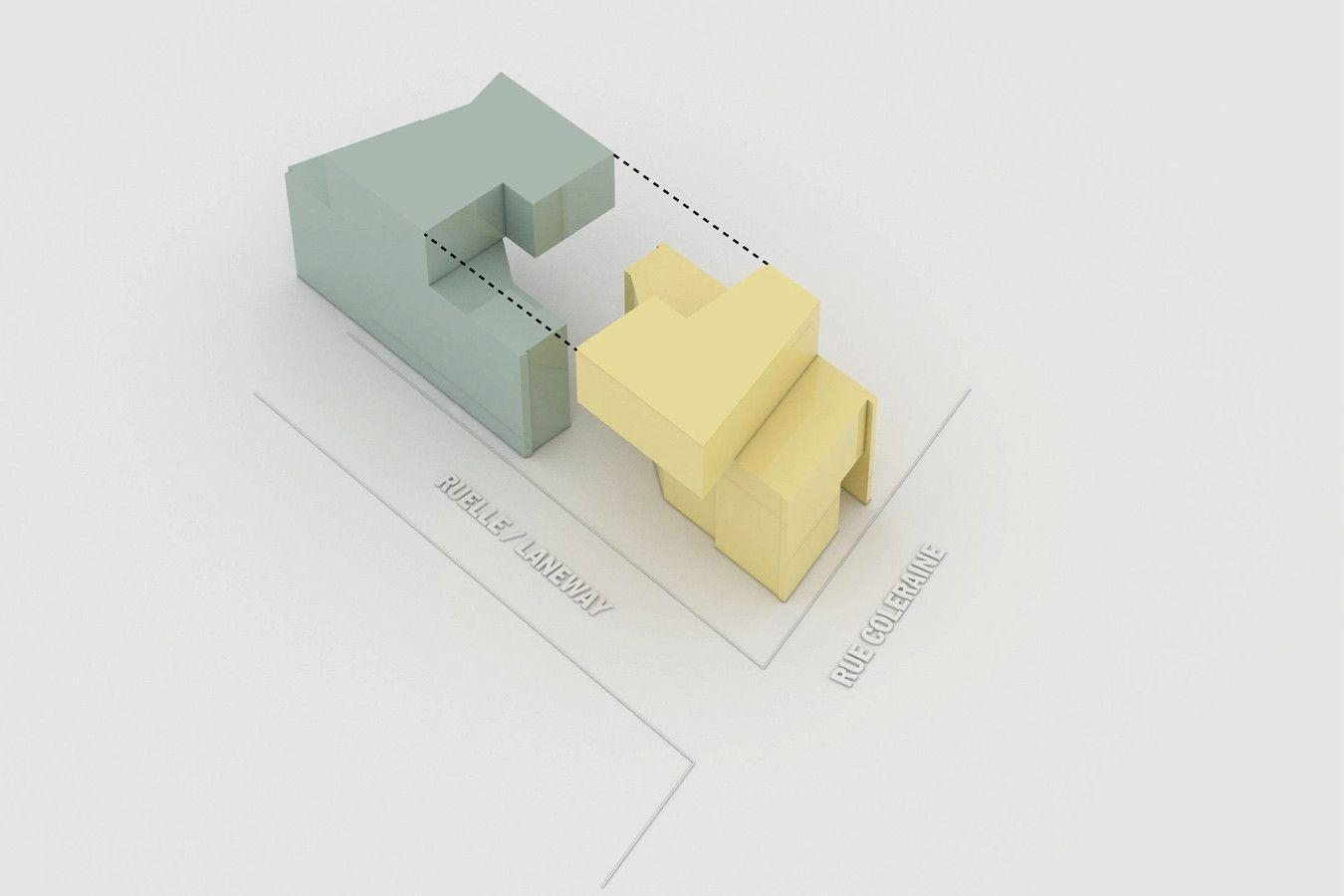 Coleraine Duplex,Diagram