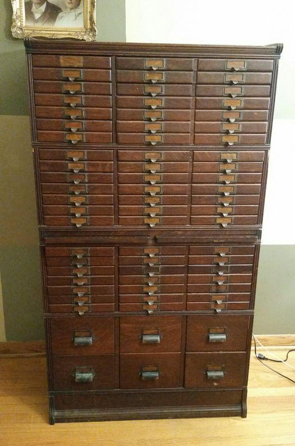 Antique Printers Cabinet for Sale in Chicago, IL ...